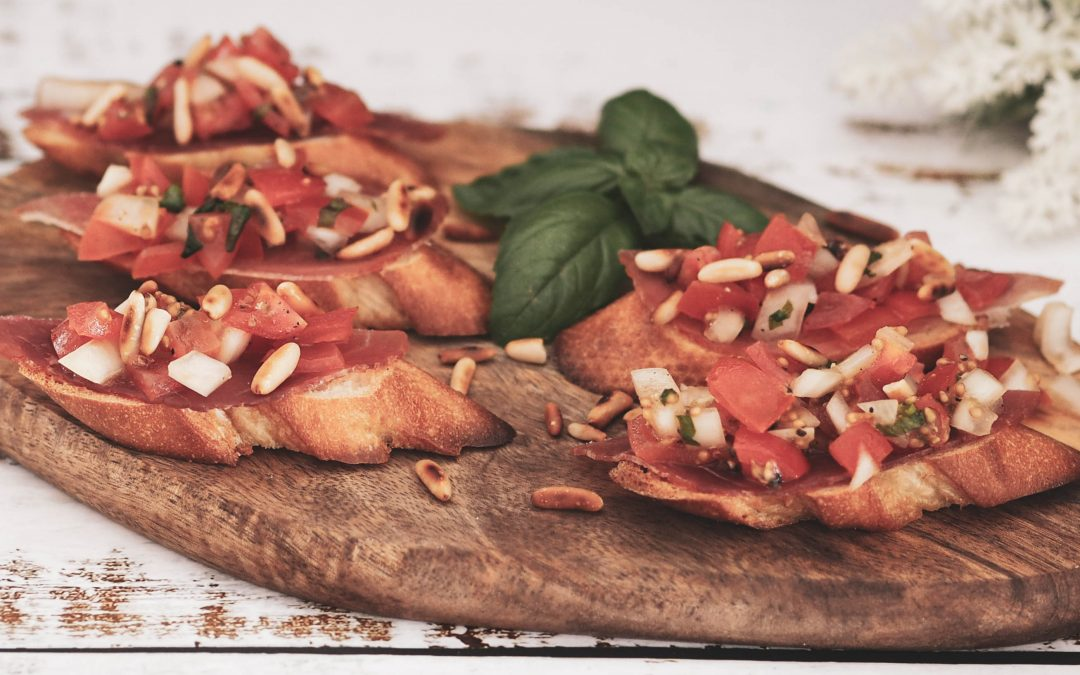 Bruschetta – fin som forrett, like fin som snacks