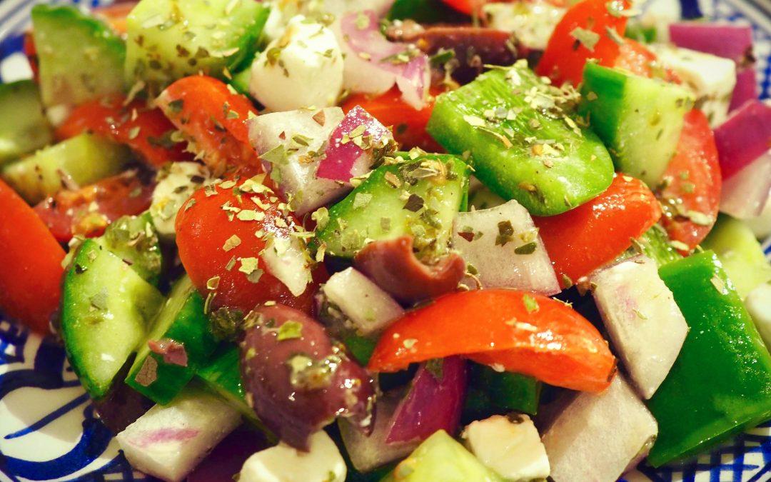 Superenkel gresk salat