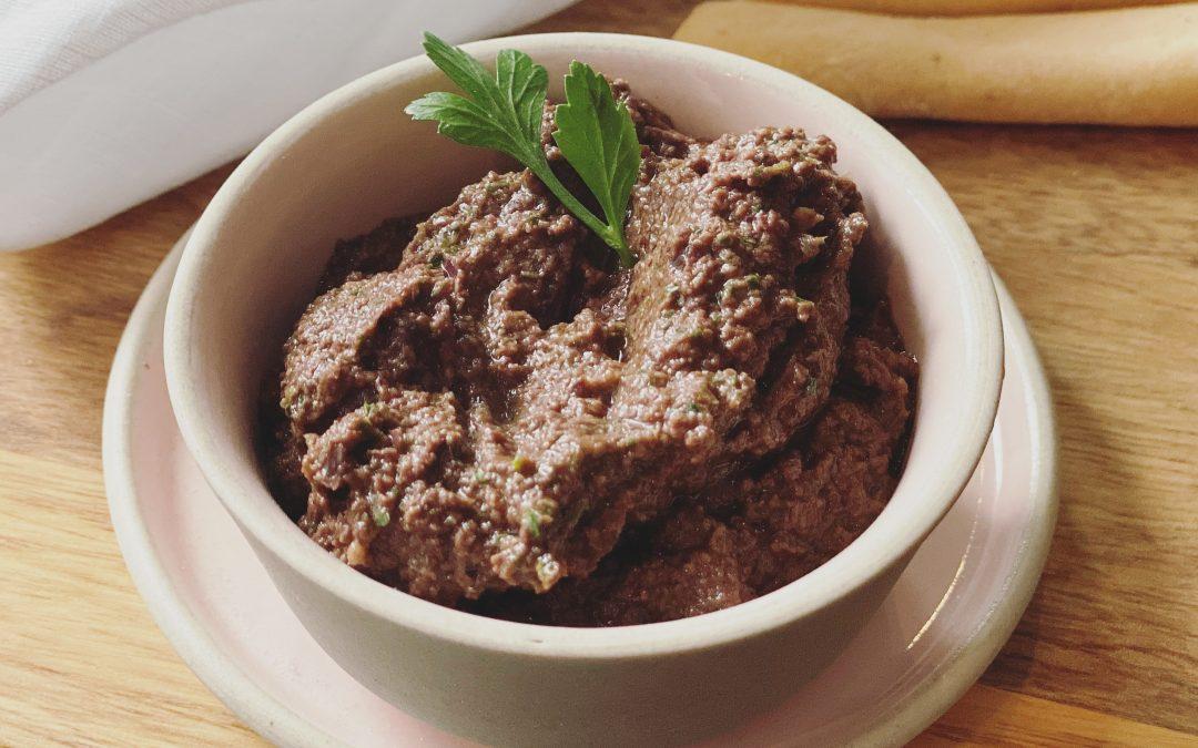 Tapenade av oliven